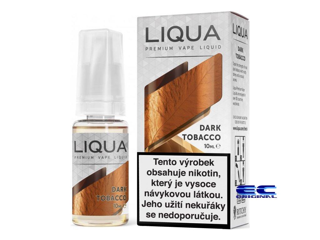 liquid liqua cz elements dark tobacco 10ml12mg silny tabak.png