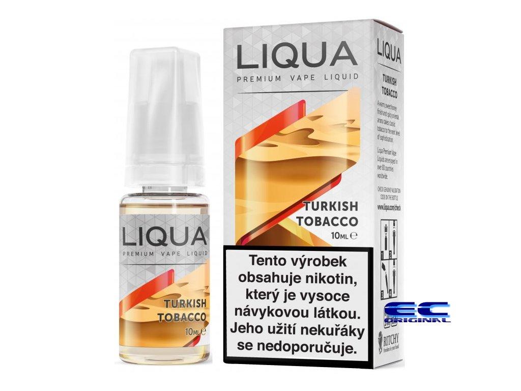 liquid liqua cz elements turkish tobacco 10ml12mg turecky tabak.png