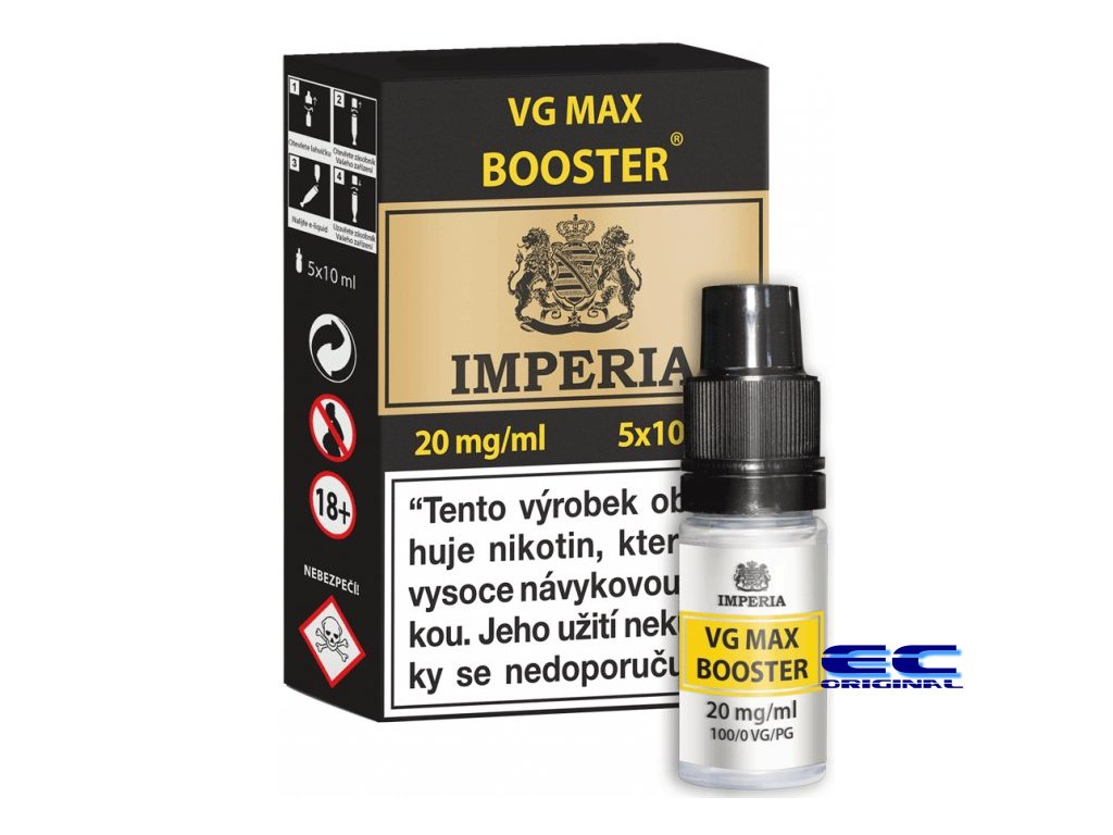 vg max booster 5x 20mg