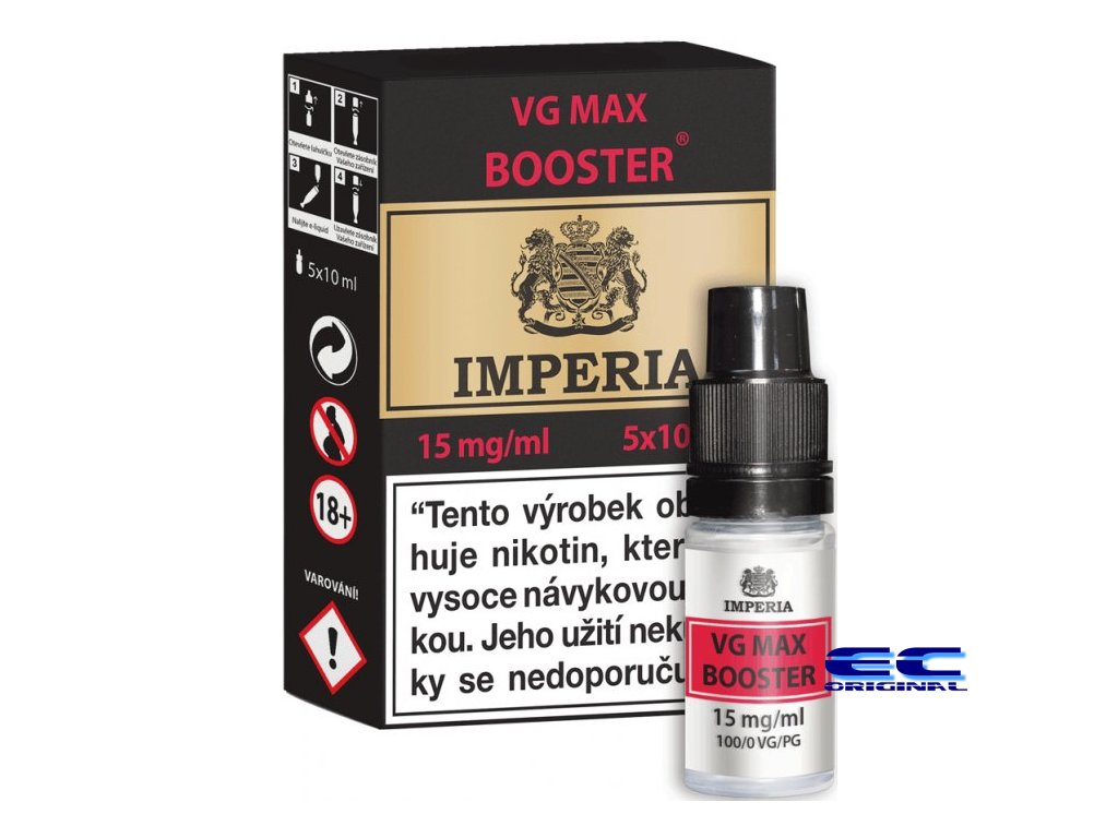 vg max booster 5x 15mg