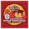 Strawberry Syrup Pancakes
