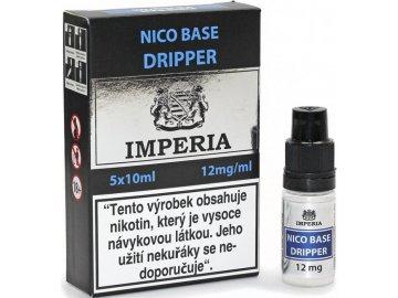 nikotinova baze cz imperia dripper 5x10ml pg30 vg70 12mg