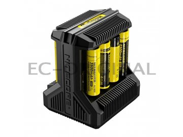 nitecore intellicharger i8 pro li ion nimh baterie 8 slotu 9480