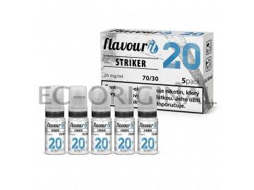 flavourit striker 70 30 dripper 20mg 5x10ml