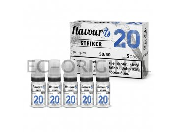 flavourit striker 50 50 20mg 5x10ml