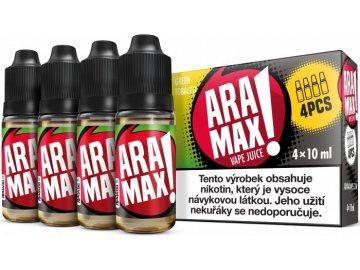 liquid aramax 4pack green tobacco 4x10ml3mg.png