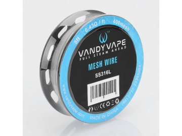 Vandy Vape Mesh Wire SS316L - mesh 400