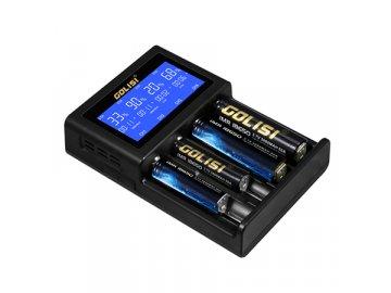 Golisi S4 2.0A - chytrá nabíječka s LCD displejem