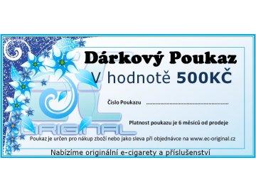 Dárkový poukaz / kupon - 500kč