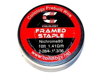 Coilology odporový drát Framed Staple, Ni80