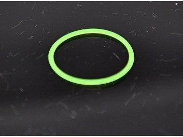 O-kroužek 18x1mm - Silikon zelený