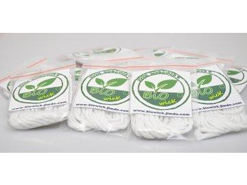 BIOWICK 100% organická bavlna 3mm - 3m