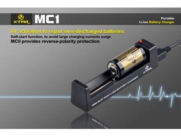 Xtar MC1 USB nabíječka Miniaturní pro Li-Ion a Mn