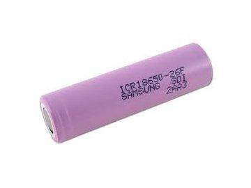 Baterie 18650 Samsung 2600mAh ICR18650-26F