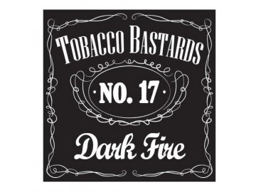 17255 flavormonks tobacco bastards no 17 dark fire 10ml
