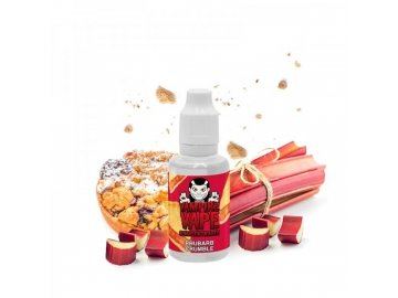 prichut vampire vape 30ml rhubarb crumble