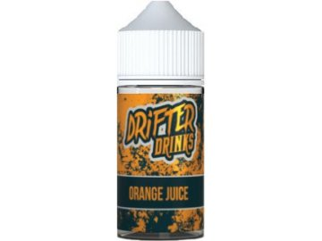 Drifter Drinks Orange Juice