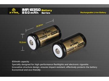 Xtar IMR 18350 Li-Ion baterie 3.7V 850mAh