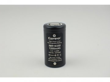 18863 baterie keeppower imr 18350 1200mah 10a