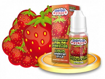 E-liquid American Stars 10ml - Strawberry Fields Forever