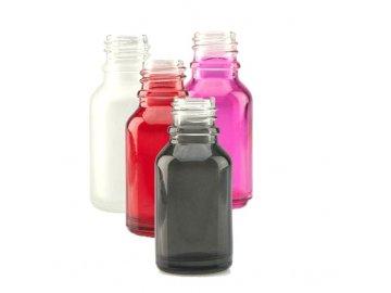 Prázdná lahvička 15ml - skleněná