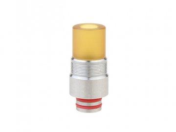 Stainless Steel + PEI Hybrid 510 Drip Tip 28 3