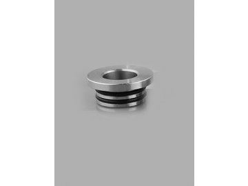 Authentic Clrane Stainless Steel 810 to 510 Drip Tip Adapter 1