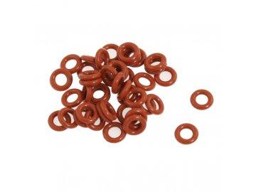 O-kroužek měkký - NBR50 Červená