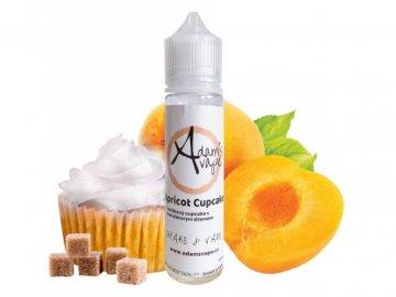 22928 prichut adams vape s v apricot cupcake sladky merunkovy cupcake 12ml
