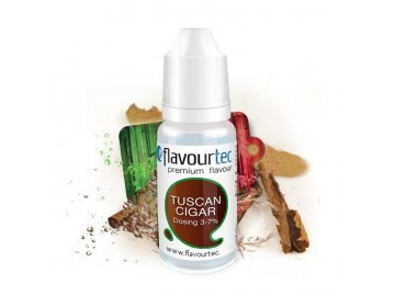 Flavourtec - Příchuť - Tuscan Cigarre (Tabák) - 10ml