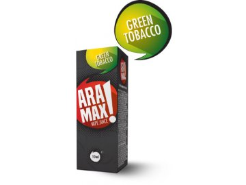 Green Tobacco - Aramax liquid - 10ml po expiraci