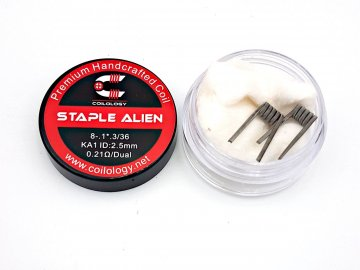 dual staple alien ka1 0,21ohm