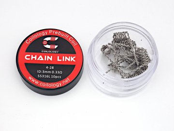 ss316l chain link 0,33ohm