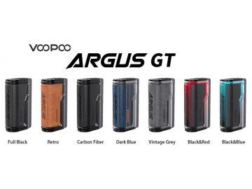 Voopoo Argus GT 160W Box Mod Banner