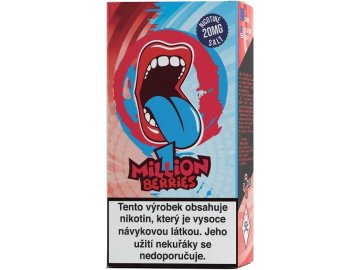 liquid big mouth salt one million berries 10ml 20mg