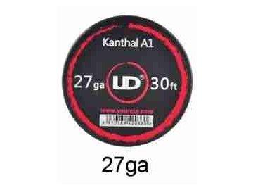 Kanthal A1 - odporový drát 0,36mm 27AWG (30ft) - UD