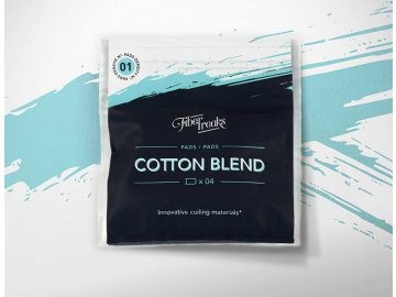 Fiber Freaks COTTON BLEND - Celulóza a vata