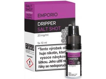booster emporio salt shot dripper 5x10ml 20mg