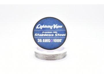 Lighting Vapes USA SS316L Drát 36GA 304m - 1000Feet