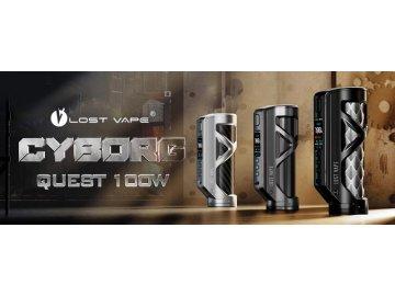 Cyborg Quest 100W Mod by Lost Vape