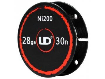 Ni200 - niklový odporový drát 0,3mm 28AWG (10m) - UD