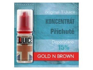Gold n Brown - příchuť T-Juice