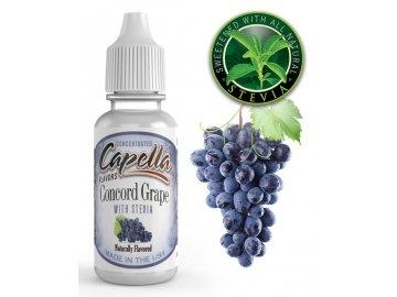 Harmonie hroznů (Concorde Grape) + Stevia - Příchuť Capella Flavors