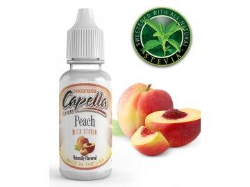 Broskev (Peach) + Stevia - Příchuť Capella Flavors