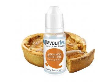 Flavourtec - Příchuť - Jablečný koláč (Cinnamon Apple Pie)