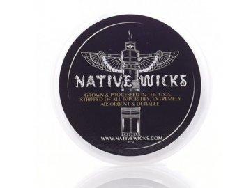 Native Wick Cotton Pima - Organická bavlna