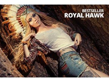ROYAL HAWK - Příchuť SMOKING BULL