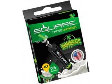 Cartridge Square pro E-Hose BIG / MINI / 2.0 (Shamrocked) (1ks)