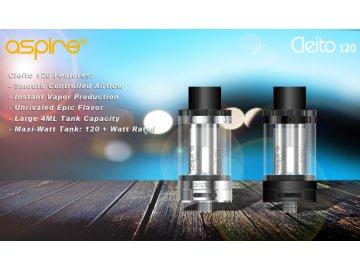 Aspire Cleito 120 Clearomizér - MAXX-WATT