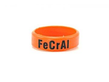 Dekorativní kroužek velký ( FeCrAl ) oranžová